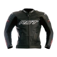 RST Tractech Evo Leather Jacket - Black