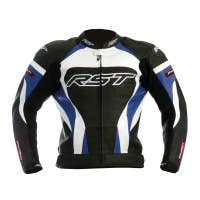 RST Tractech Evo Leather Jacket - Blue