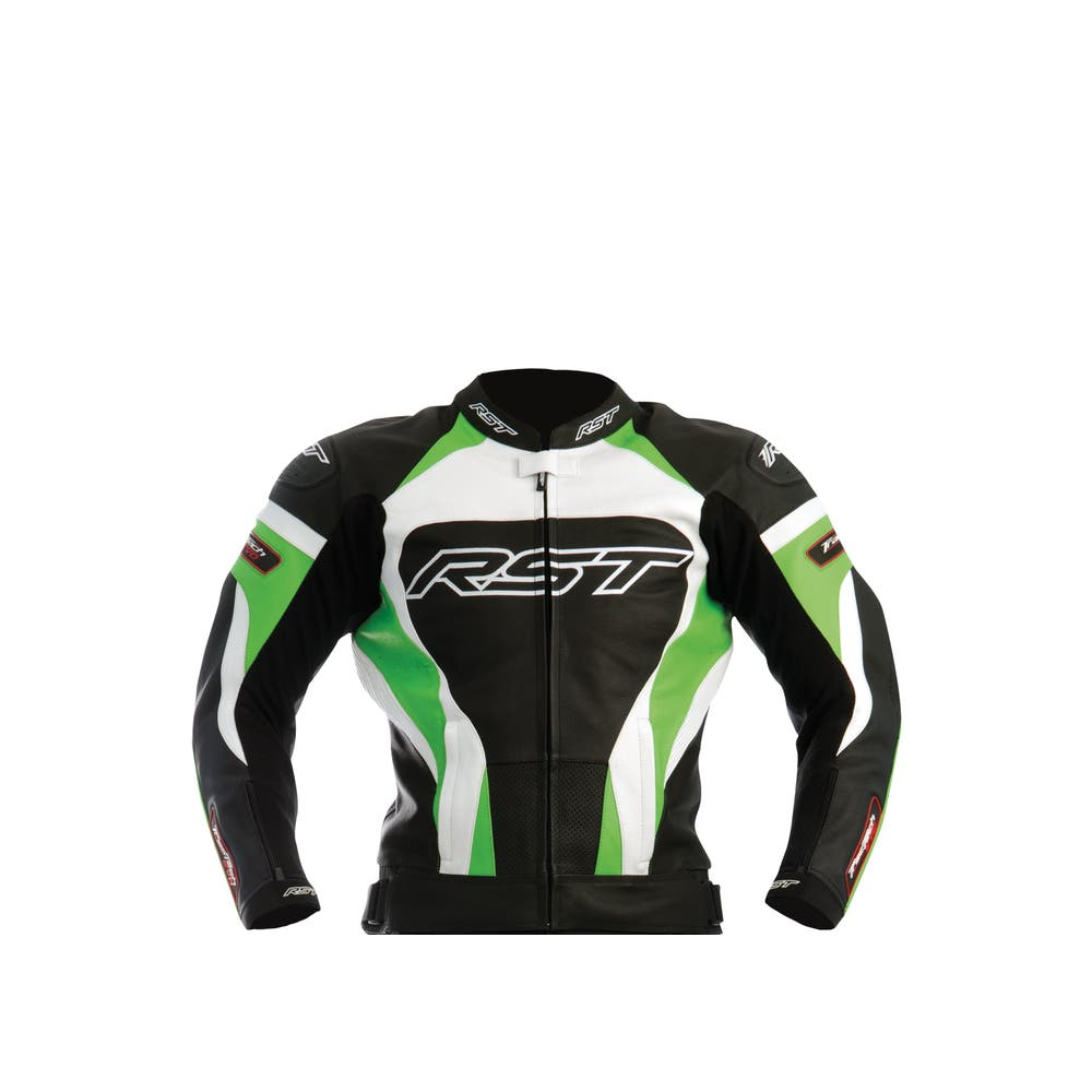 RST Tractech Evo Leather Jacket - Green