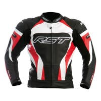 RST Tractech Evo Leather Jacket - Red