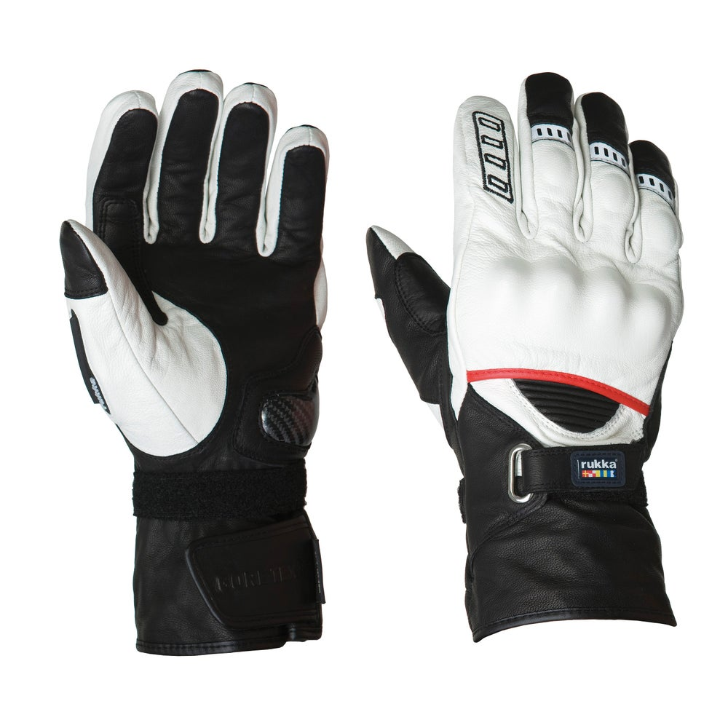 Rukka Apollo Gore-Tex X-Trafit Gloves - White