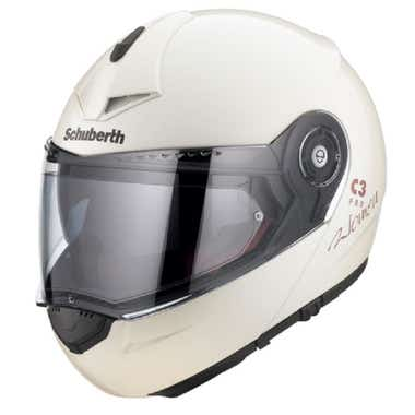 Schuberth Ladies' C3 Pro Woman Helmet - Pearl White