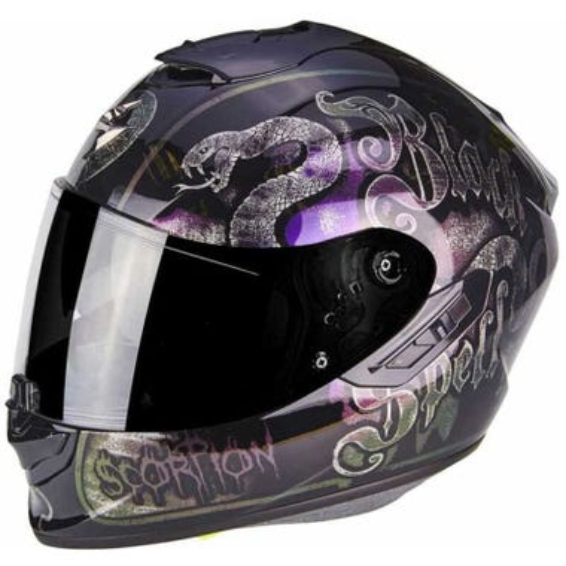 Scorpion Exo 1400 Air Helmet - Blackspell