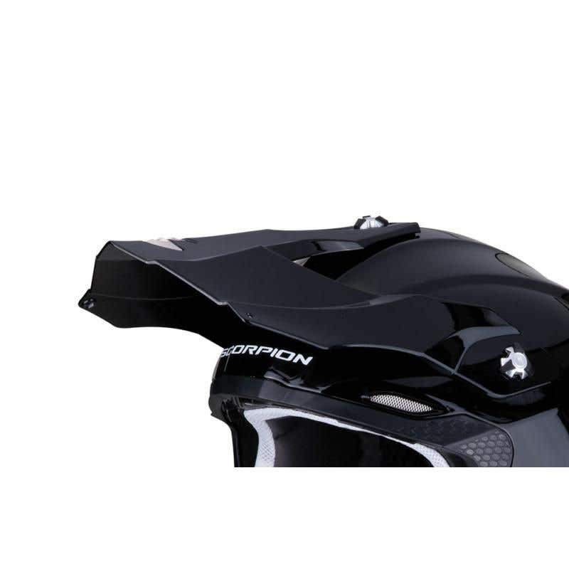 SCORPION VX15 EVO MATT BLACK PEAK