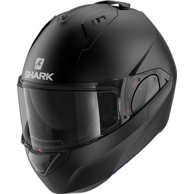 SHARK EVO ES HELMET - BLANK: MATT BLACK (KMA): XL