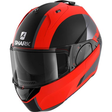 SHARK EVO ES HELMET - ENDLESS: MATT ORANGE/BLACK (OKK): XL