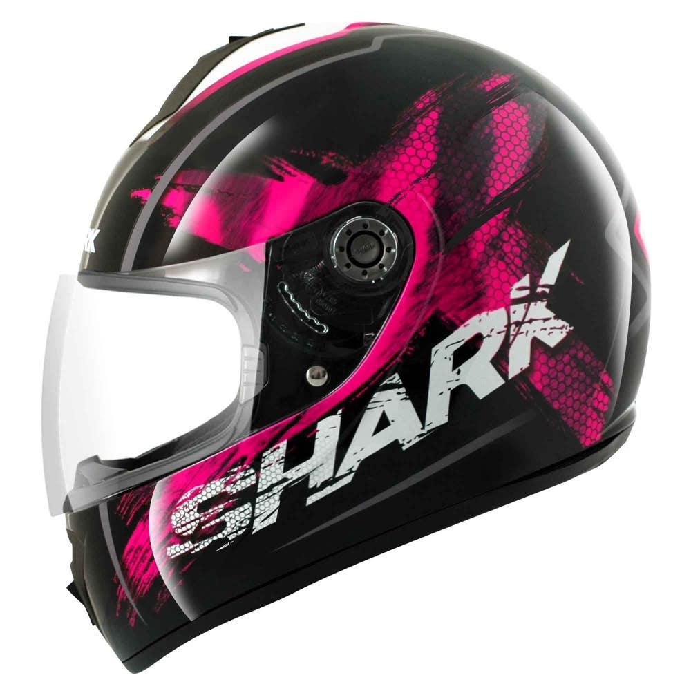 Shark S600 Exit Helmet - Black / Fushia / White