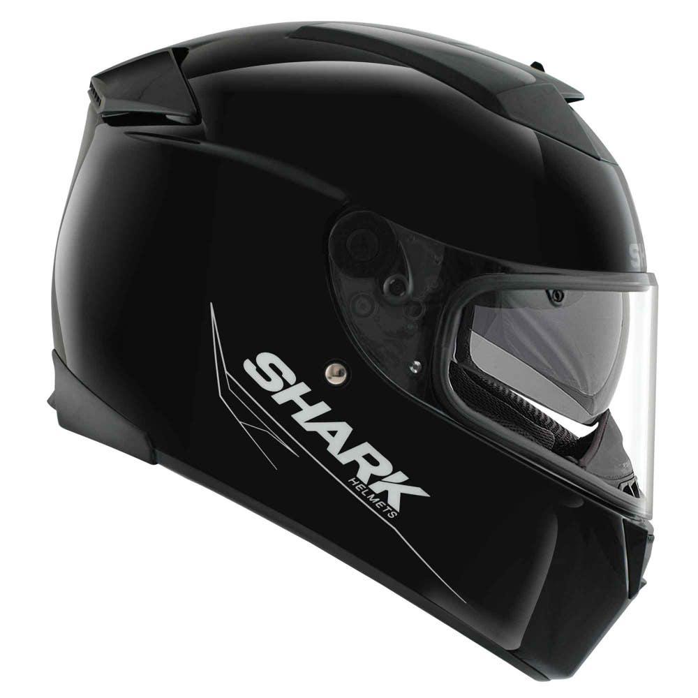 Shark Speed R Blank Helmet - Black