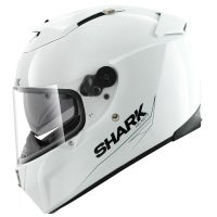 Shark Speed R Blank Helmet - White Azur