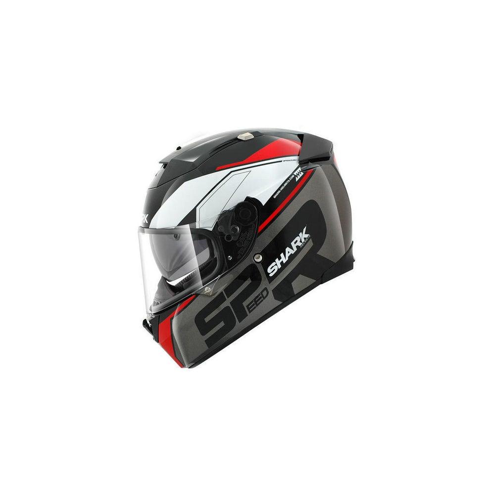 Shark Speed R Sauer Helmet - Black / Anthracite / Red
