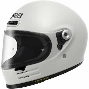 SHOEI GLAMSTER HELMET - PLAIN: OFF WHITE: 2XL