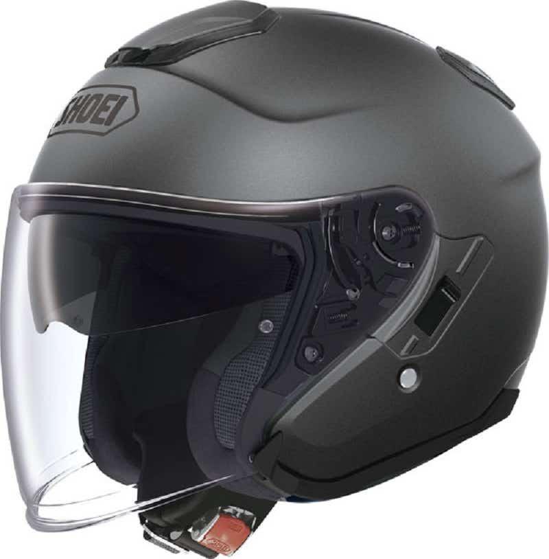 Shoei J-Cruise Helmet - Matt Deep Grey