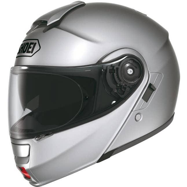 Shoei Neotec Helmet - Light Silver
