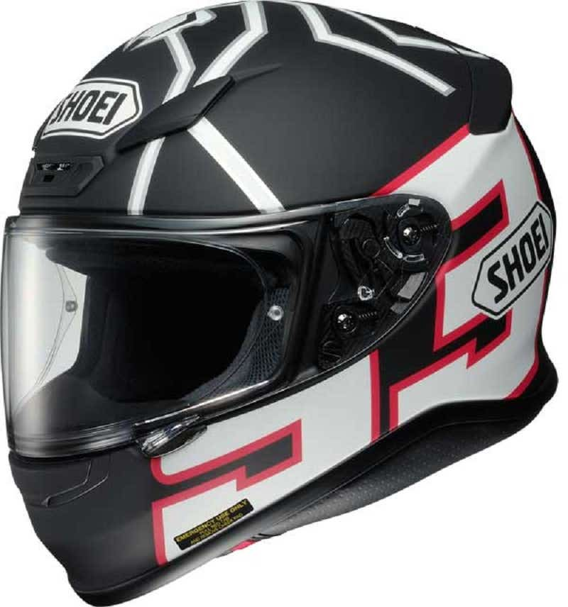Shoei NXR Helmet - Marquez Black Ant