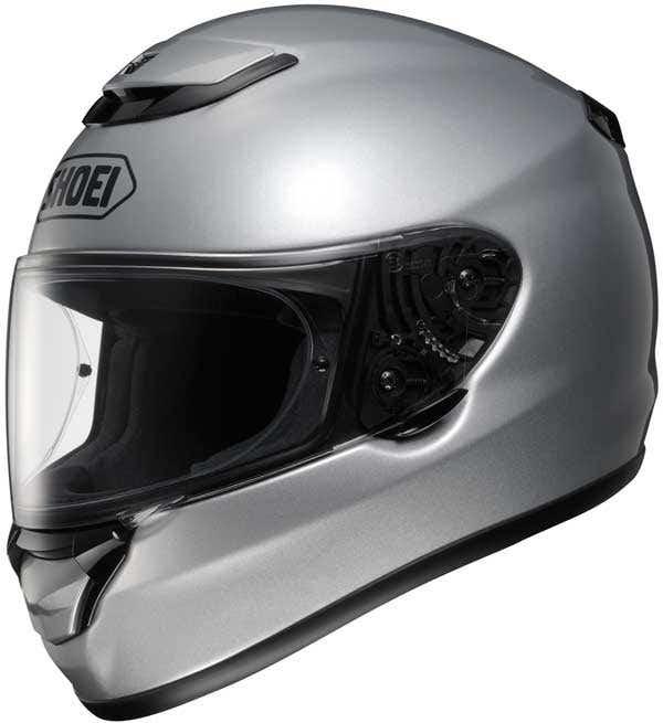 Shoei Qwest Helmet - Light Silver