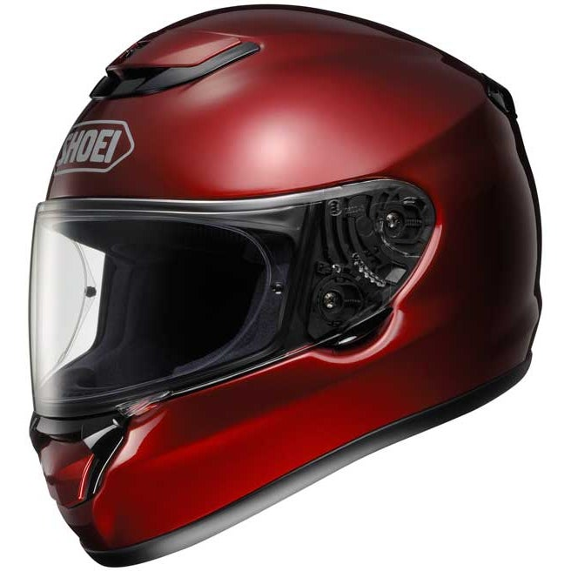 Shoei Qwest Helmet - Wine Red