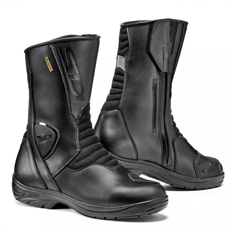 Alpinestars Ridge Waterproof Mens Street Motorcycle Boots Black, EU Size 38