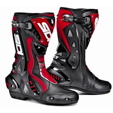 Sidi ST Boots - Black / Red