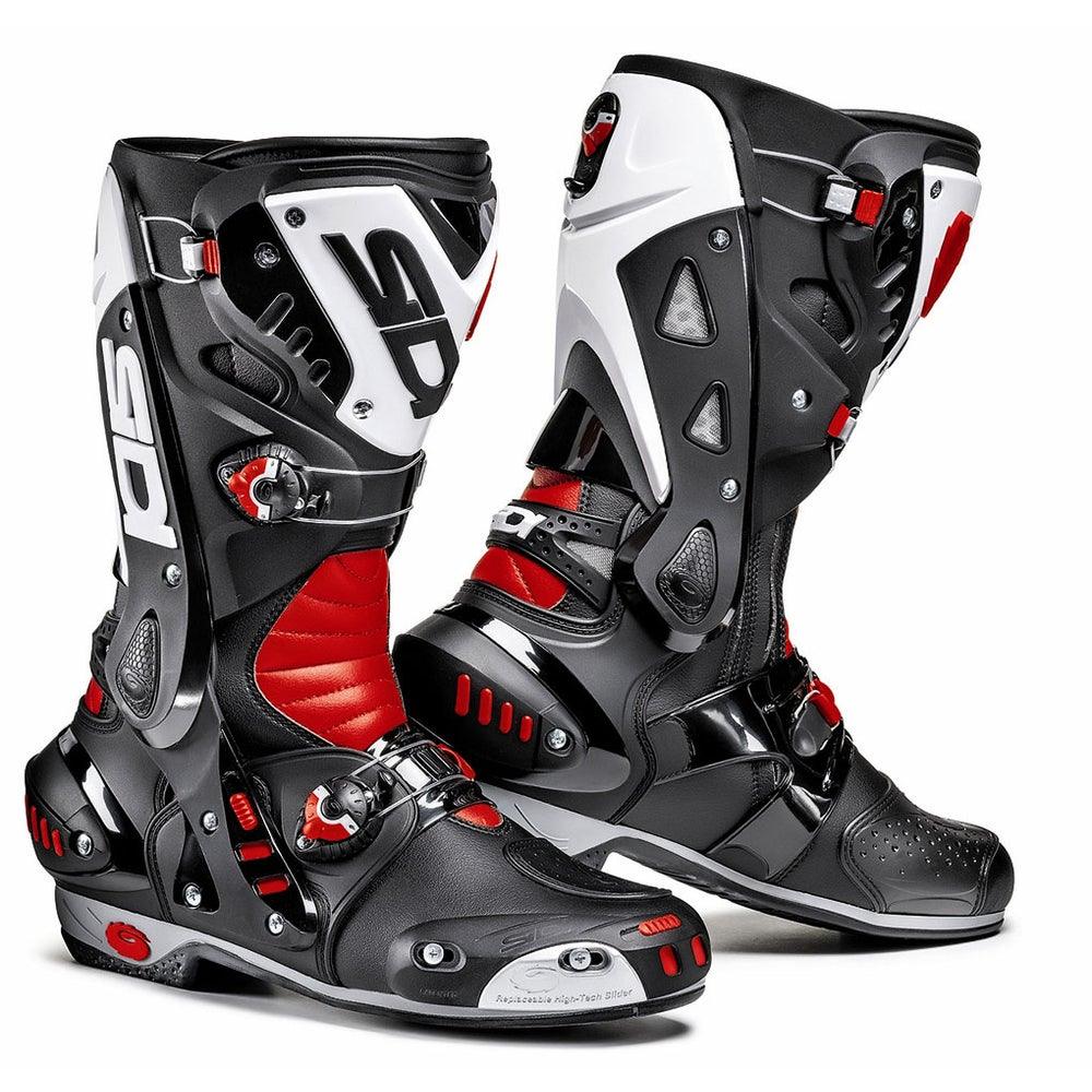 Sidi Vortice Boots - Black / Red / White