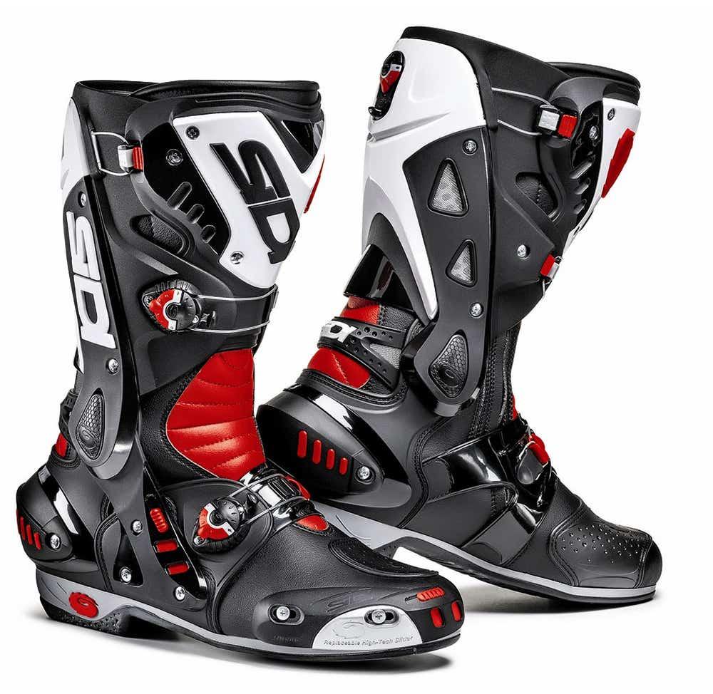 Sidi Vortice Boots - Black / Red / White