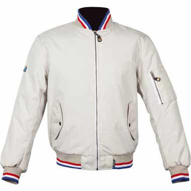 SPADA AIRFORCE 1 ROYALE CE JACKET: Ivory: 4XL
