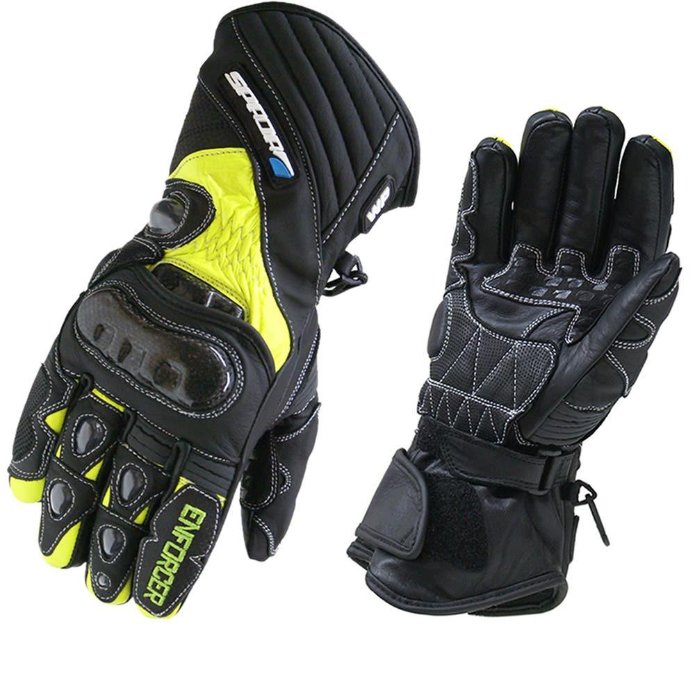Spada Enforcer Waterproof Gloves - Fluoro Yellow