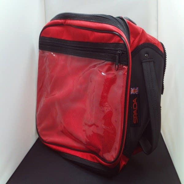 SPADA ZIPMAX EXPANDABLE BAG RED INCLUDES BASE MAT