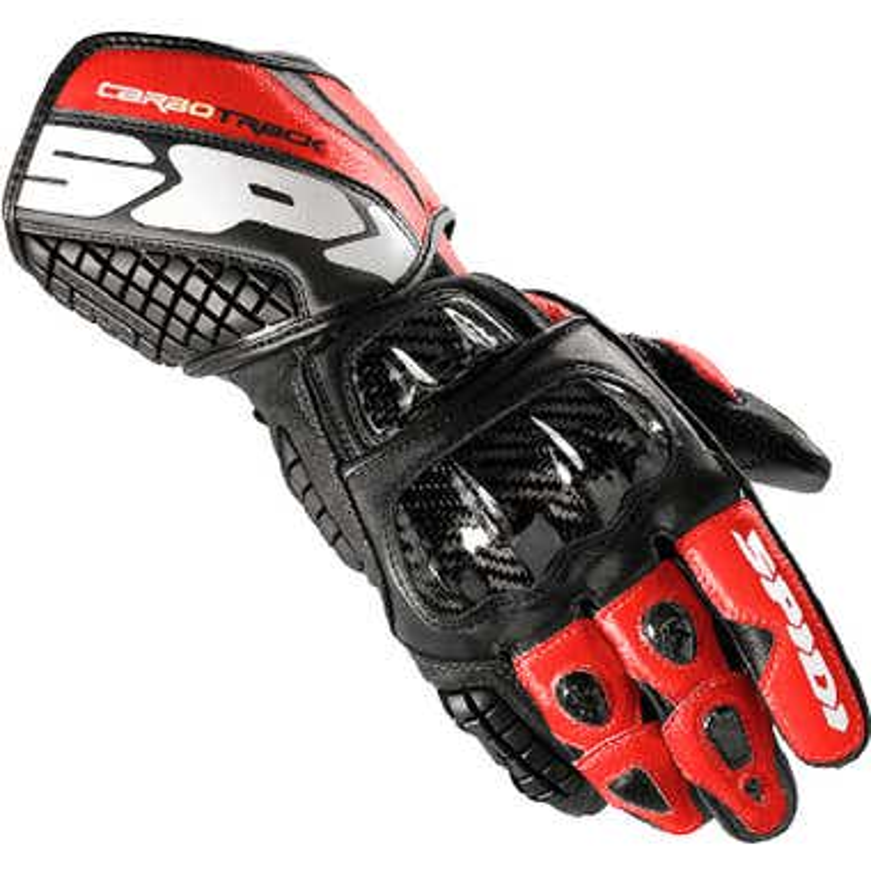 Spidi Carbo Track Leather Gloves