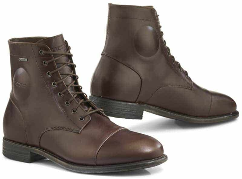 Brown 41 Richa Brookland Waterproof Leather Urban Style Motorcycle Bike Boots