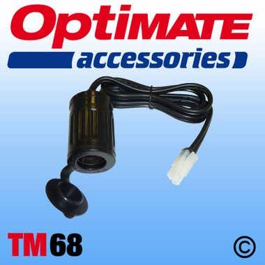 Optimate TM68 - Cig Socket