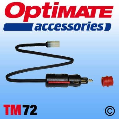 Optimate TM72  - Cig / DIN Plug
