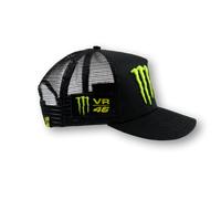 VR46 Monster Logo Trucker Cap - Right