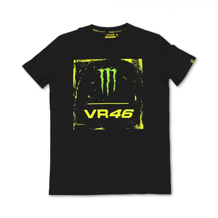 VR46 Monster Square T-Shirt - Black