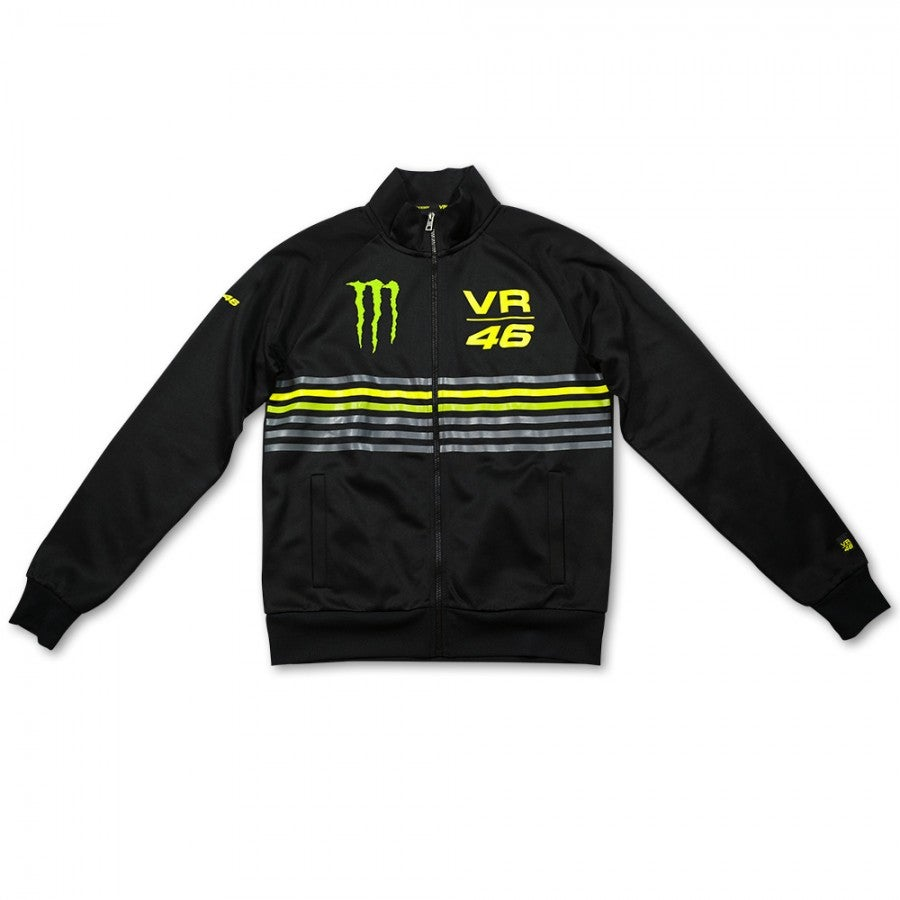 VR46 Monster Stripes Jacket - Black