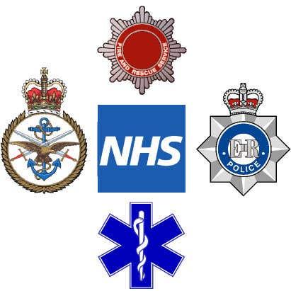 British Services Logos