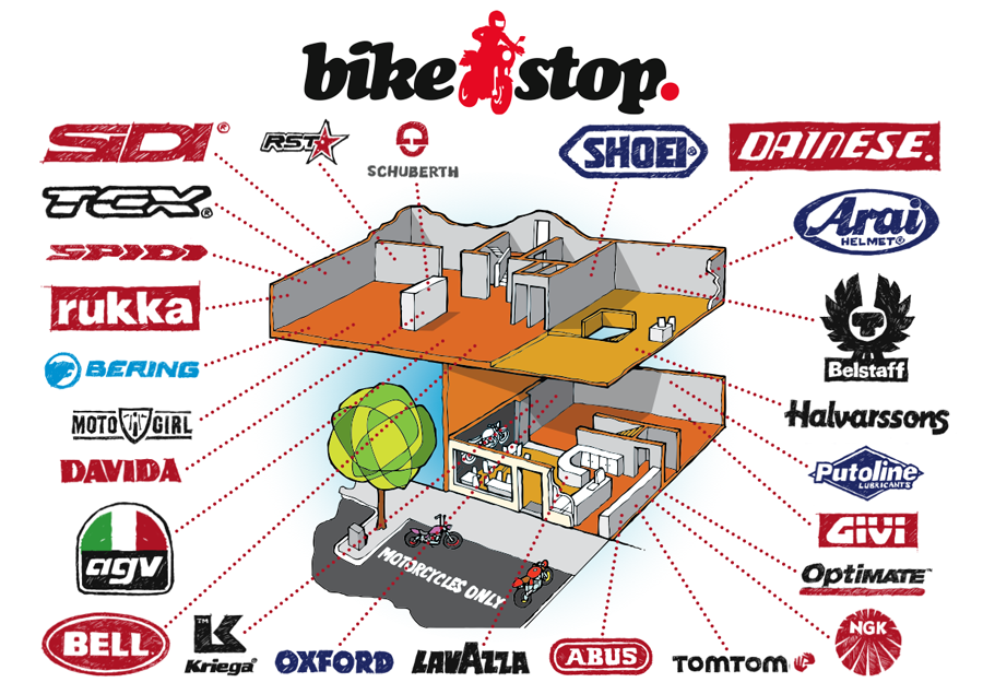 Bike Stop Floor Plan